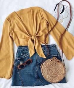 Summer Fashion ROund Bag