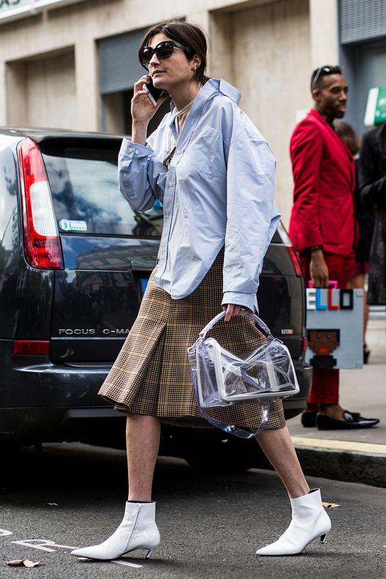 see-through handbags