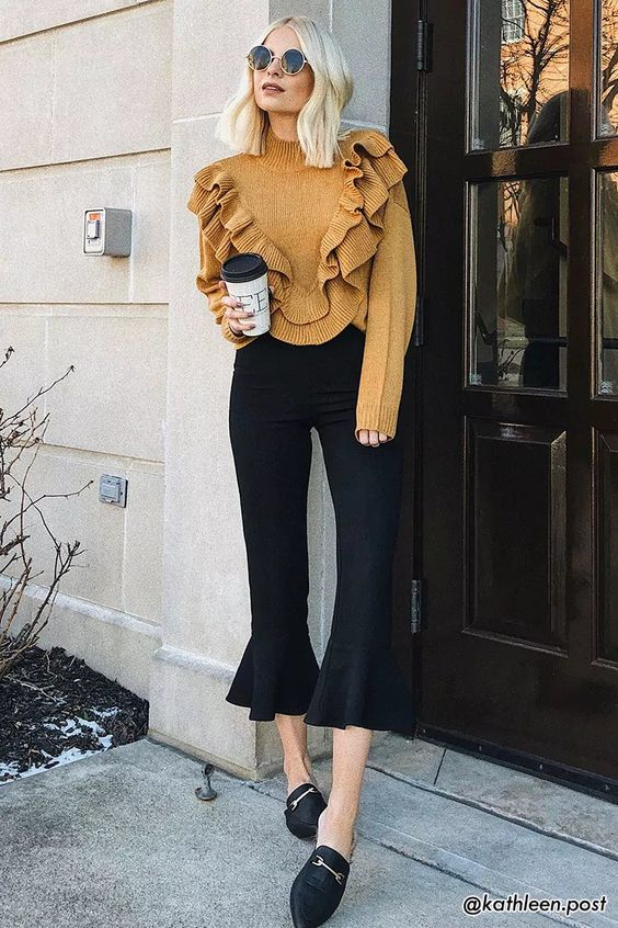 Flat Mules Outfit Ideas That Will Improve Your Style