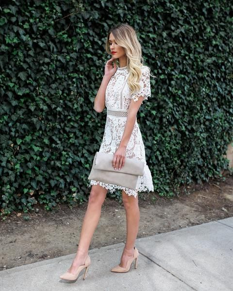 Chic Ways To Update The Little White Dress Trend