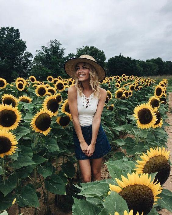 Flower garden outfit
