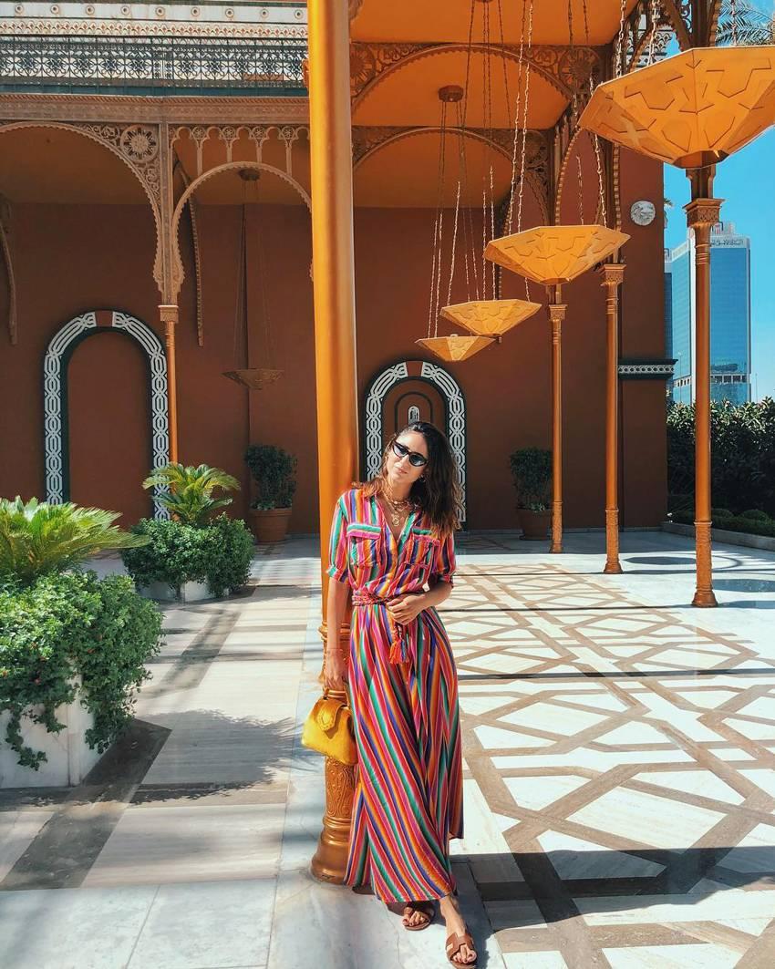 dresses outfit ideas for vacation via @SORAYABAKHTIAR