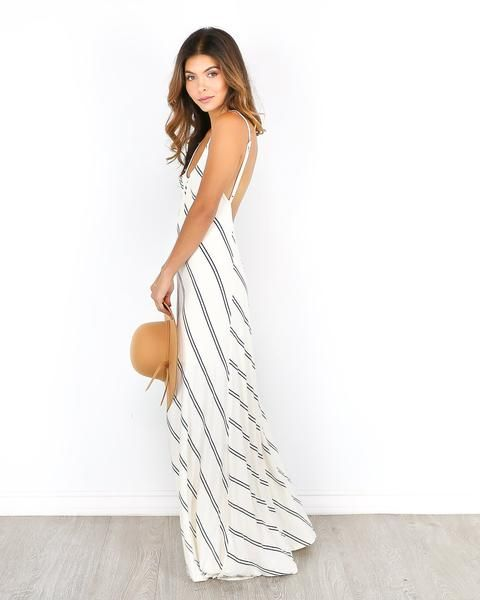 The Go Around Maxi Dress