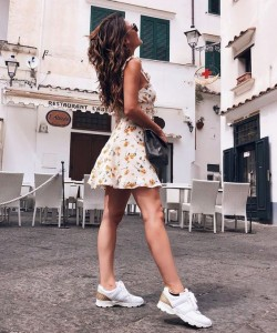 2018 Trend Style What to Wear With Chunky Sneakers