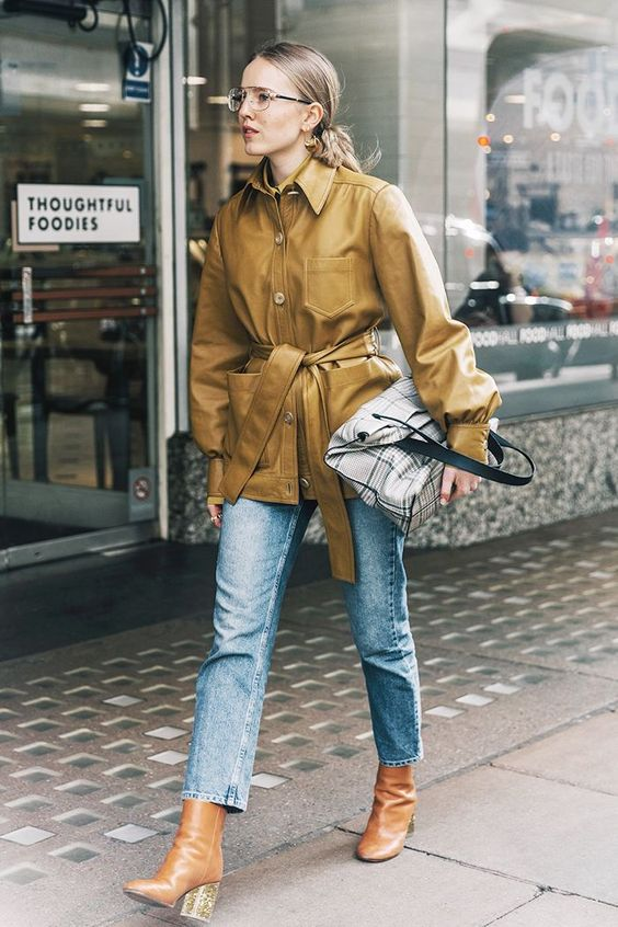 Chic Ways To Style Fall Outfit With Ankle Boots