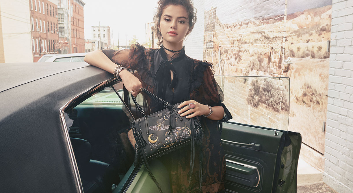 Selena Gomez x Coach The Dreamer Fall 2018 Collection