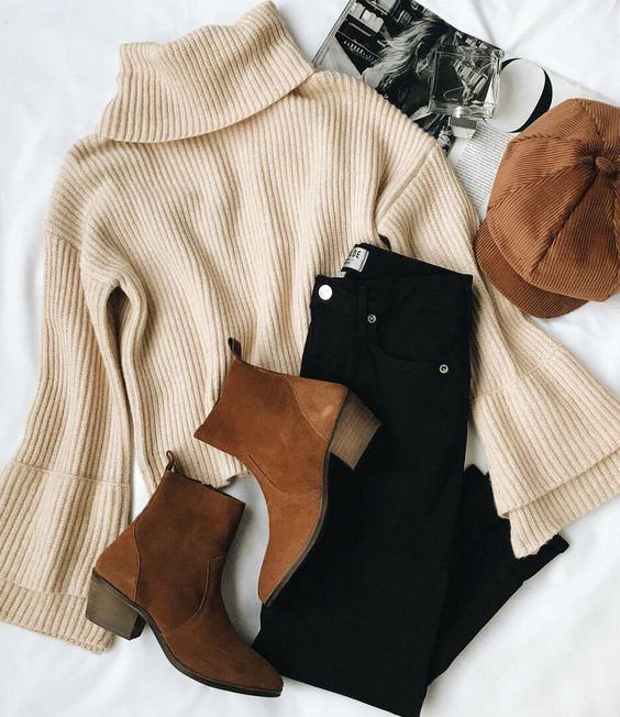 Style Fall Outfit With Ankle Boots