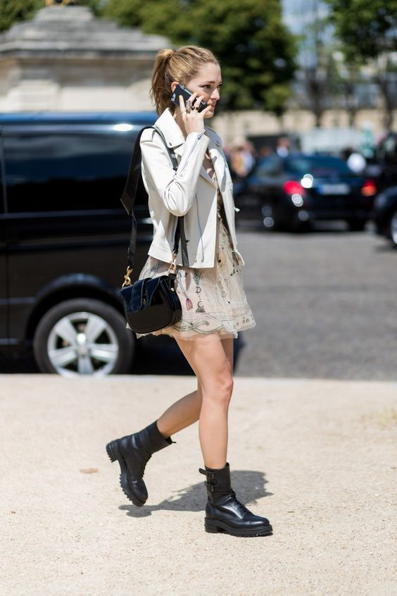Wear Ankle Boots in the Summer