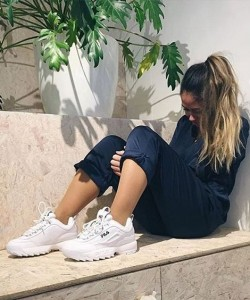 What to Wear With Chunky Sneakers