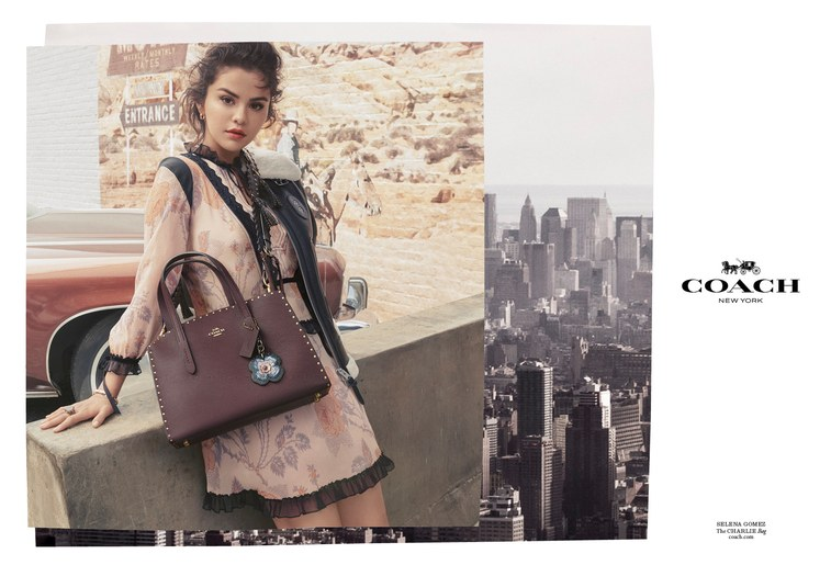 "Selena Gomez x Coach ""The Dreamer"" Fall 2018 Collection"