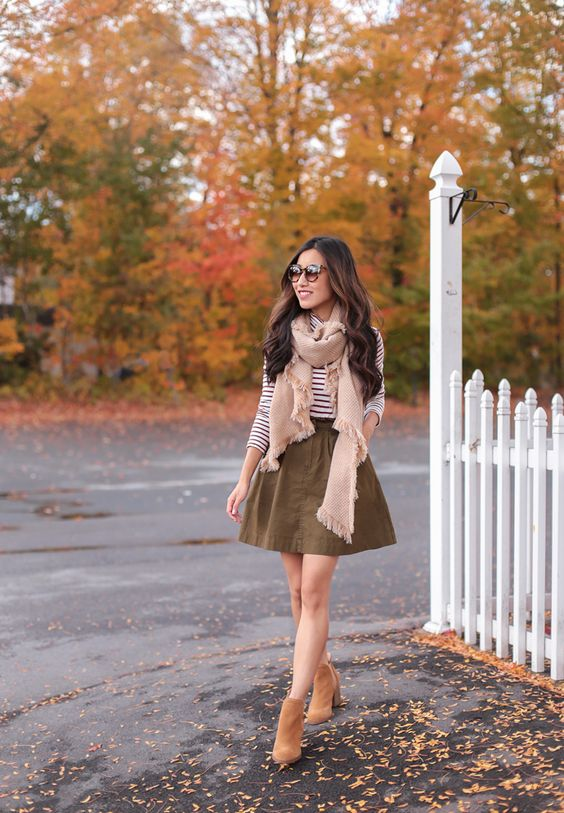 cute ankle boots outfits and new england fall foliage
