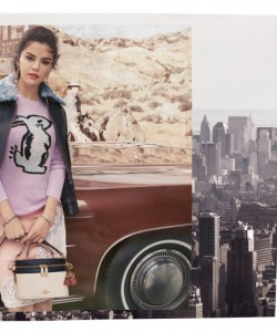 Selena Gomez x Coach fall collection
