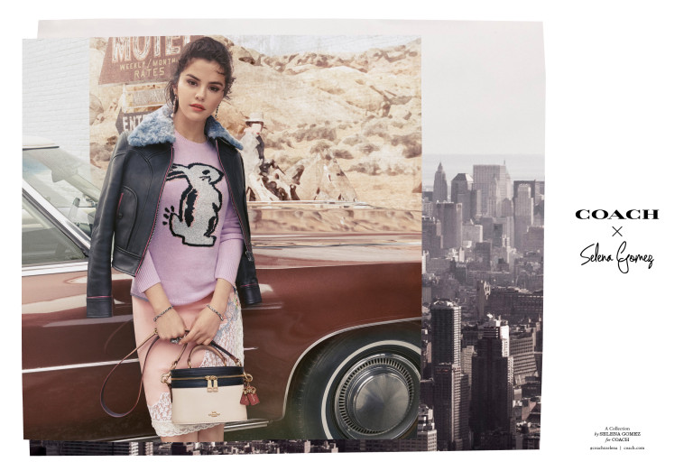 Selena Gomez x Coach fall collection