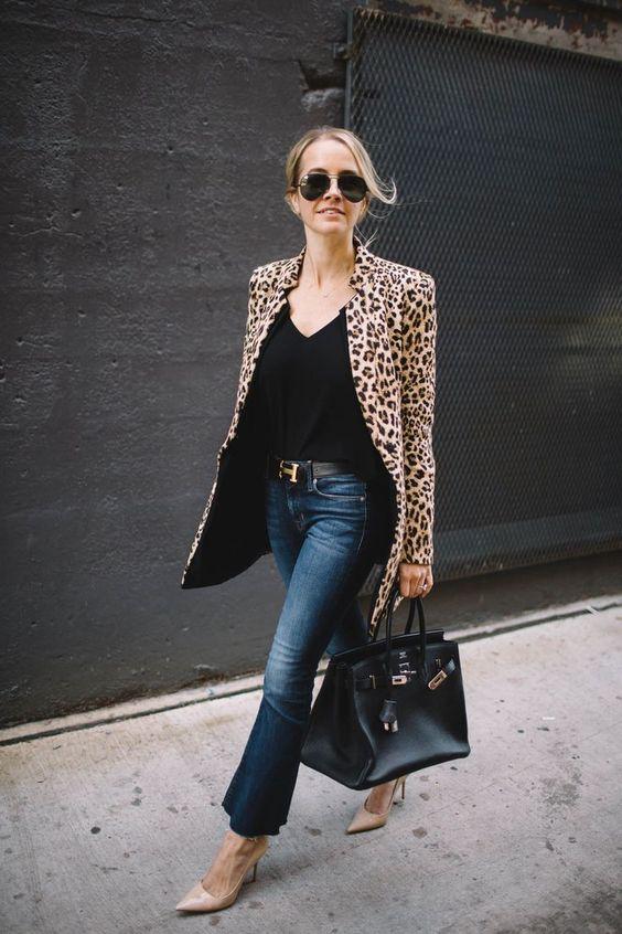 Fabulous leopard print coat