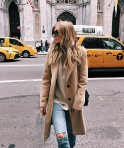 Fall Camel Coat