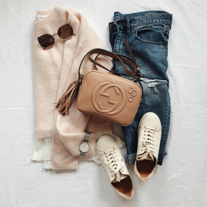 Jeans via The pink Diary