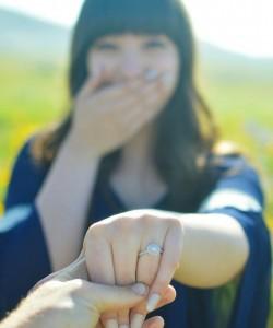 Sunflower Rings for engagement