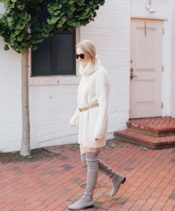 Colder temps call for cozier dresses! My favorite color palette over on theg