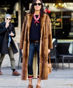 vivianna volpicela mink coat