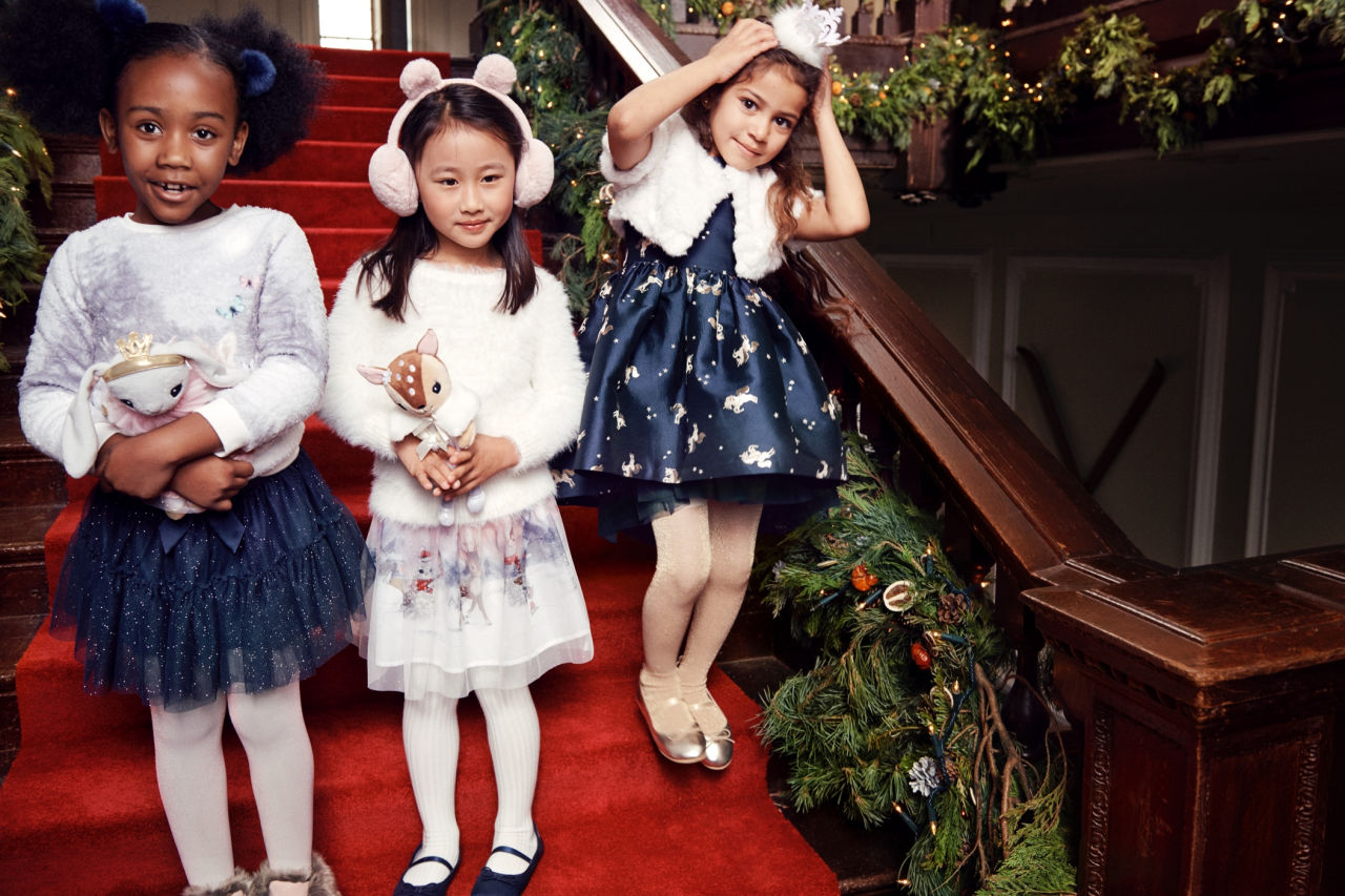 Kid's Holiday Style From H&M