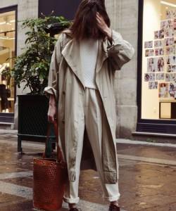 ( Maxi ) trench coat