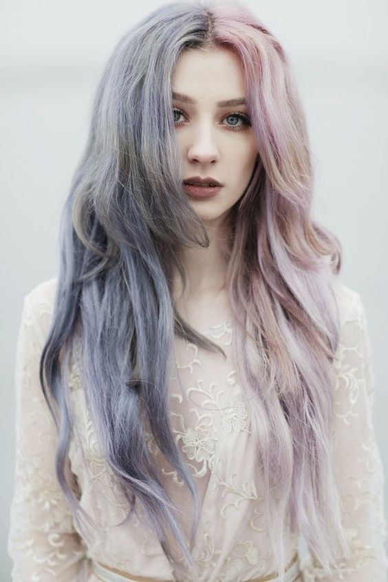 Pastel Hair Colors Ideas You Need Try in 2019