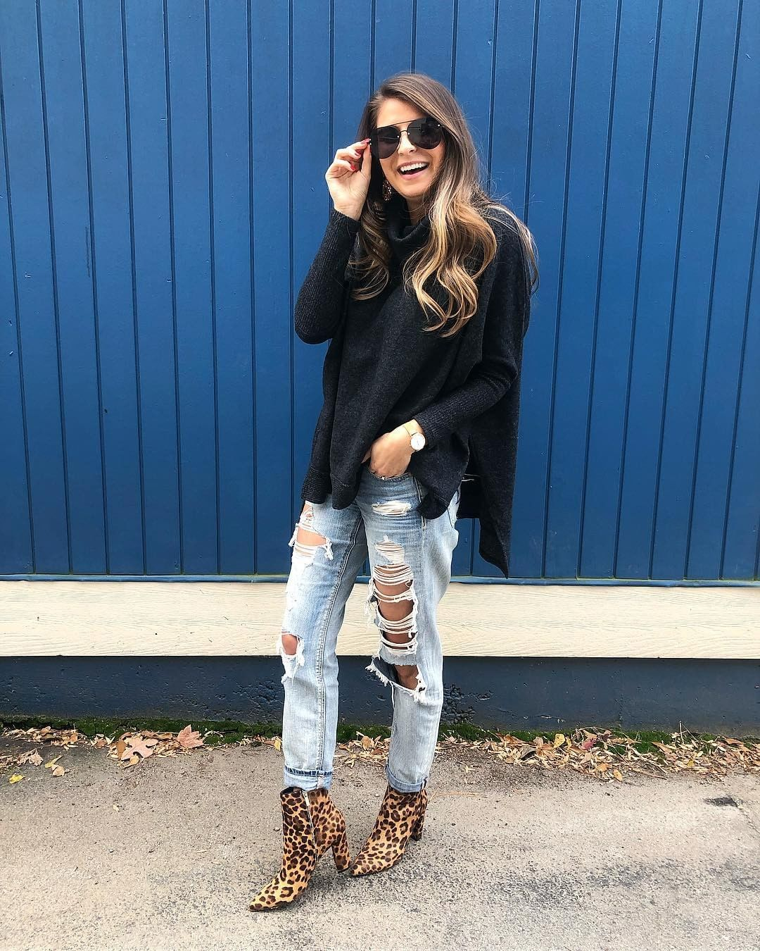 @simply_darlings' pop of leopard print booties