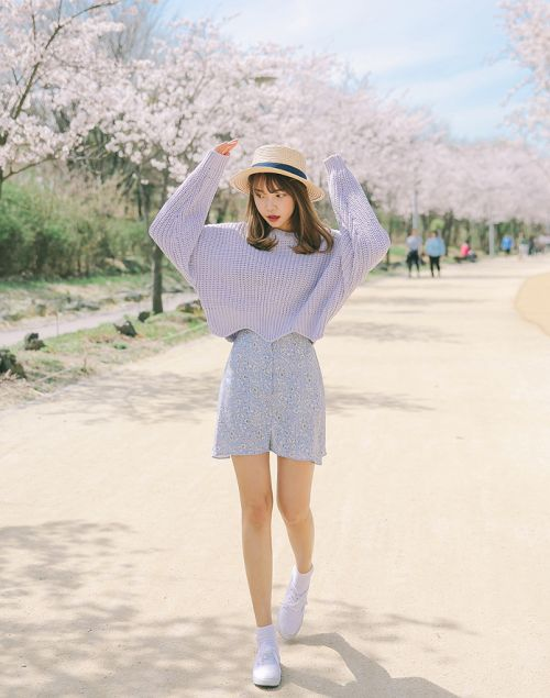 Korean Fashion Casual Spring
