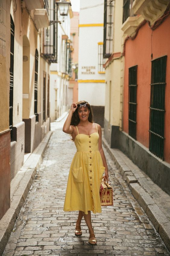 Walking in Seville