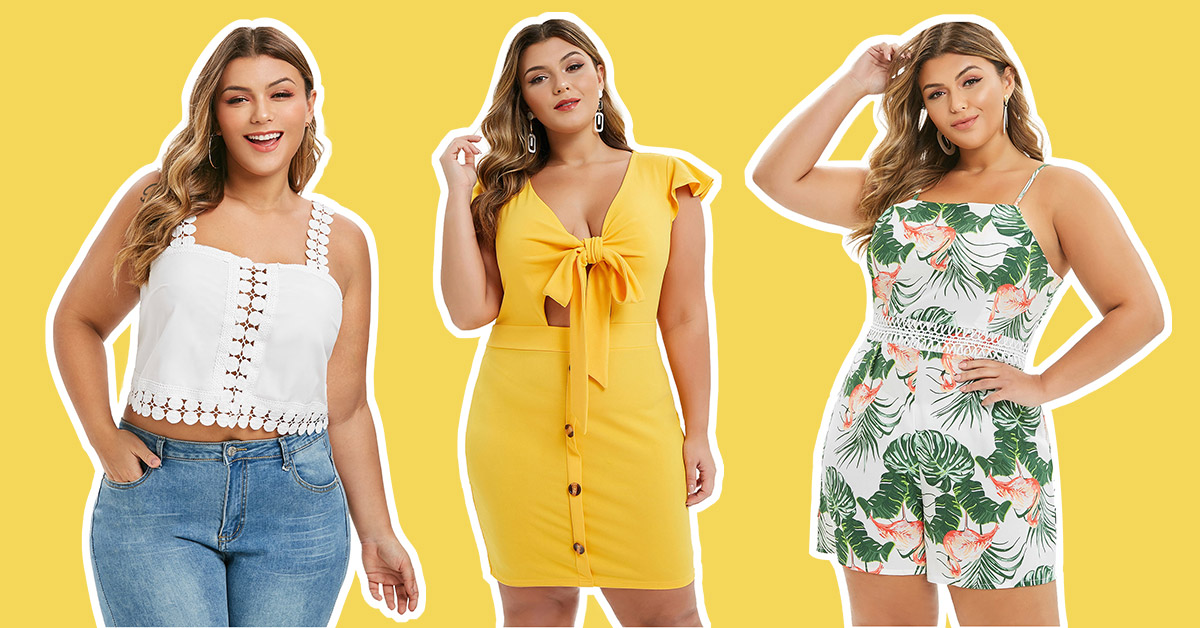 Chic Summer to Fall Outfit Ideas For Curvy Girls