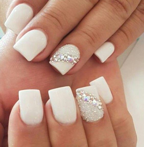 Bridal Nail Art Ideas