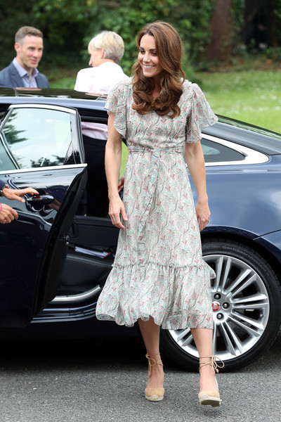 Kate Middleton Print Dress