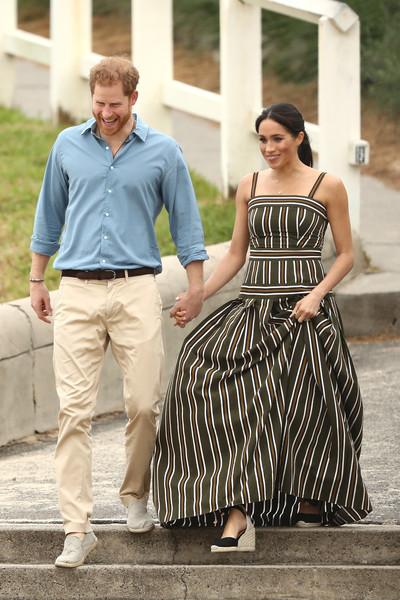 Meghan Markle Print Dress