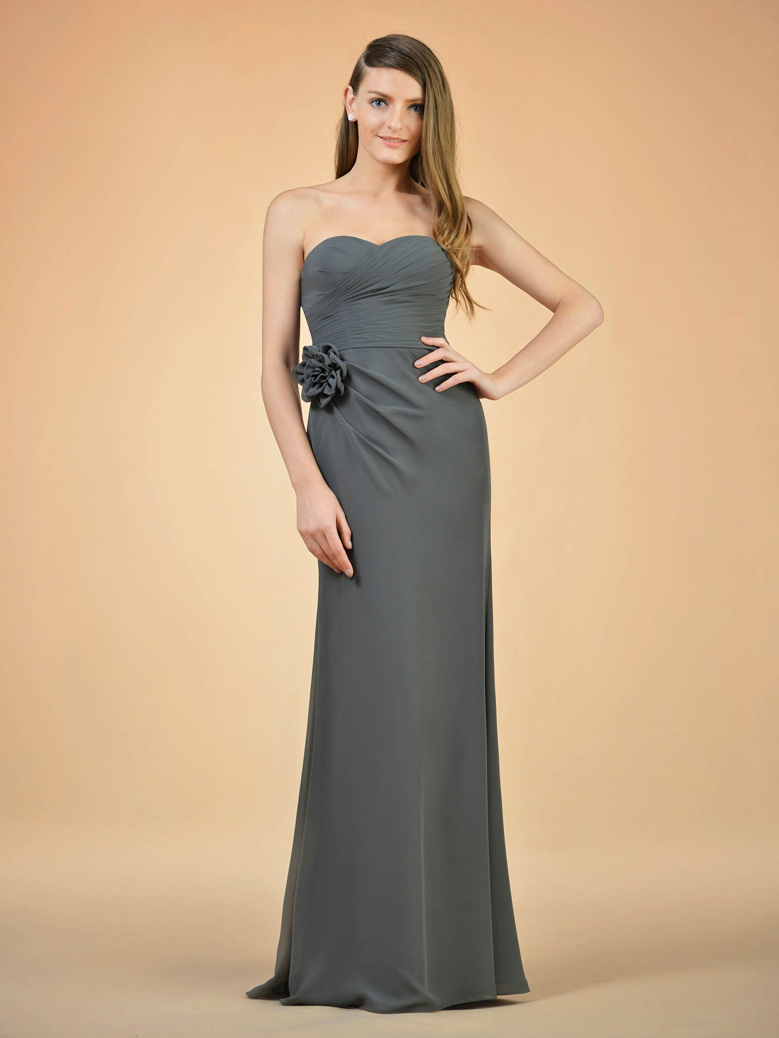Cheney Floral Bridesmaid Dress
