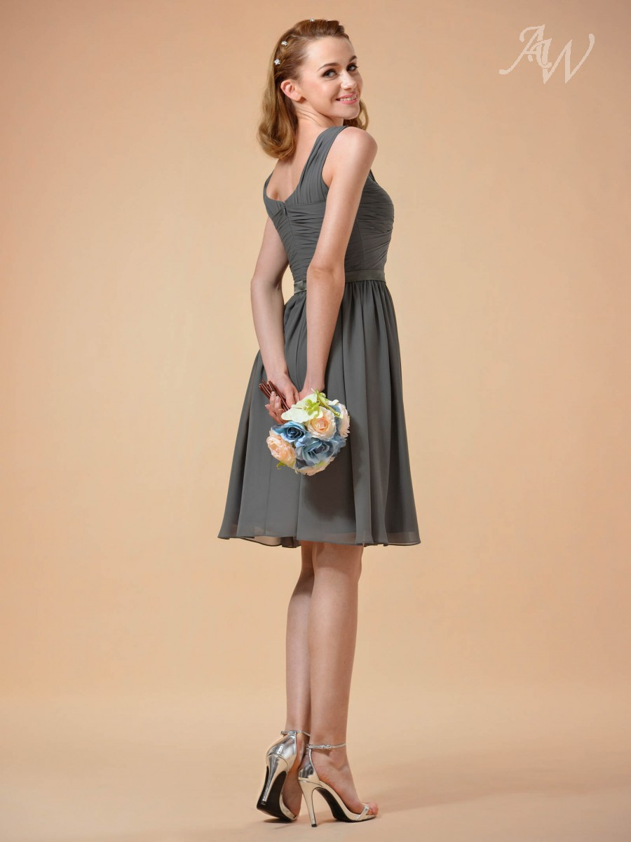 Susie Knee Length Bridesmaid Dress