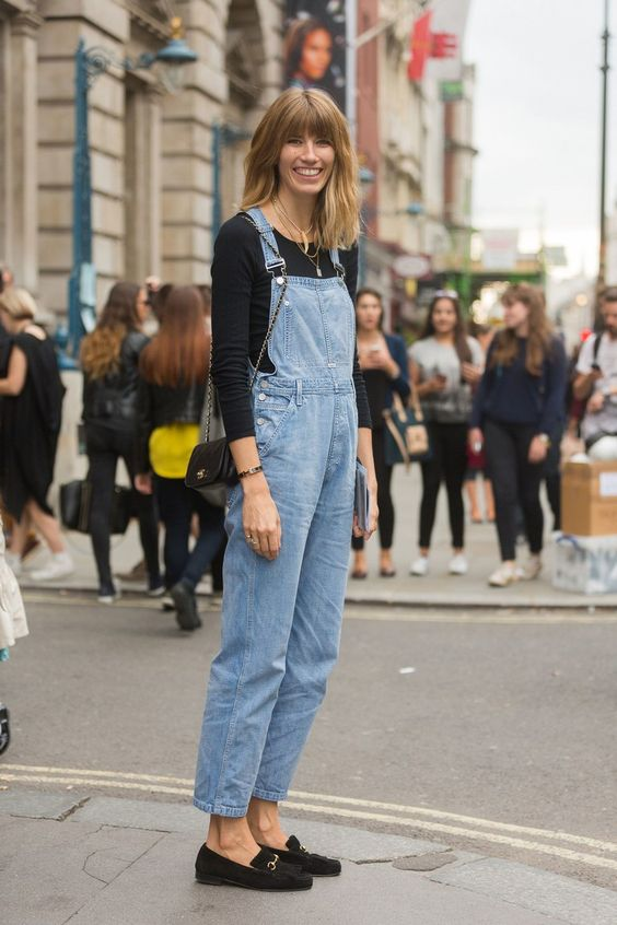 How to Style Your Overalls