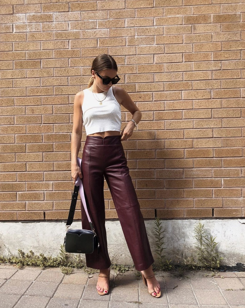Ultimate Guide To Wear Leather Outfit This Fall