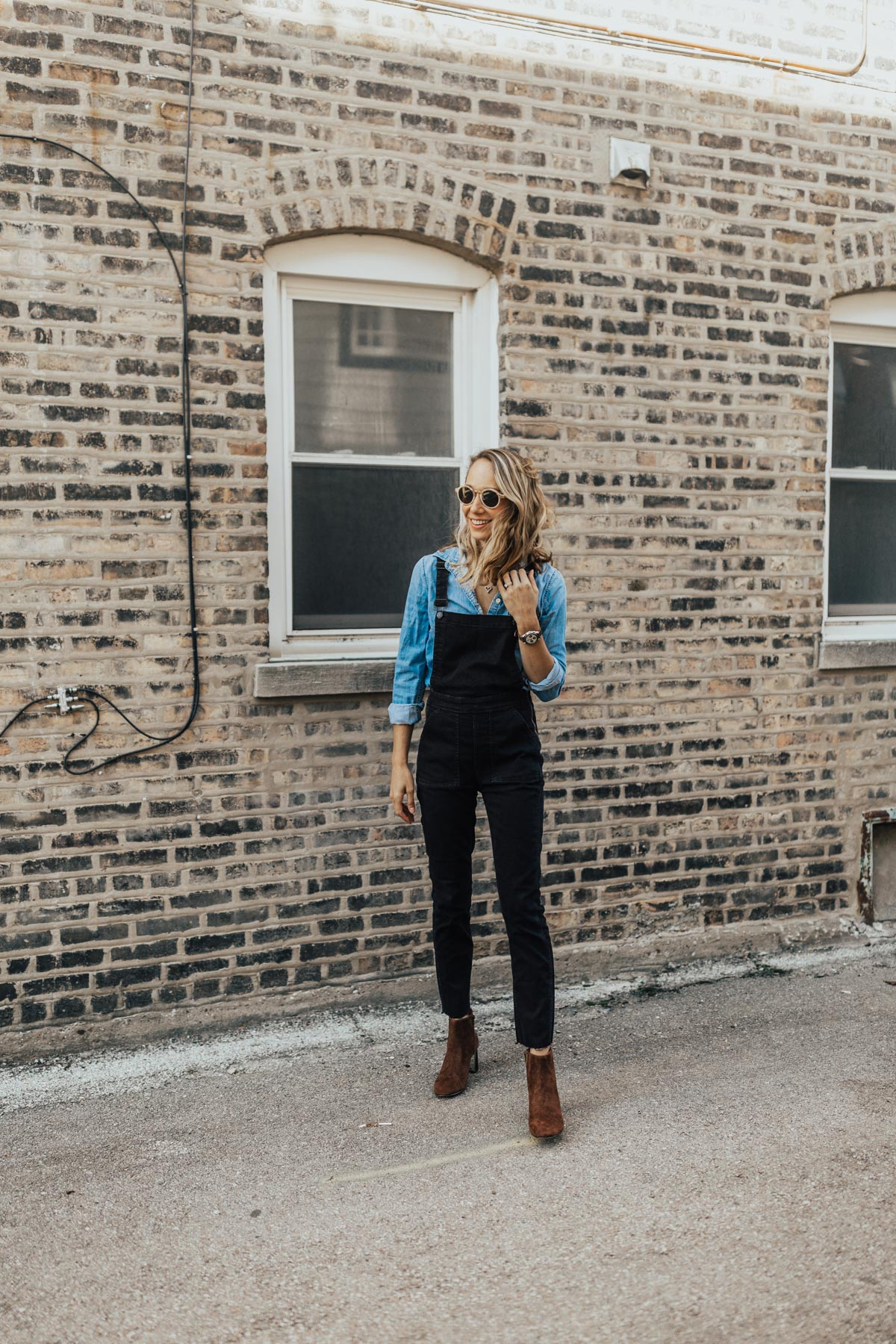 Overalls with Chambray