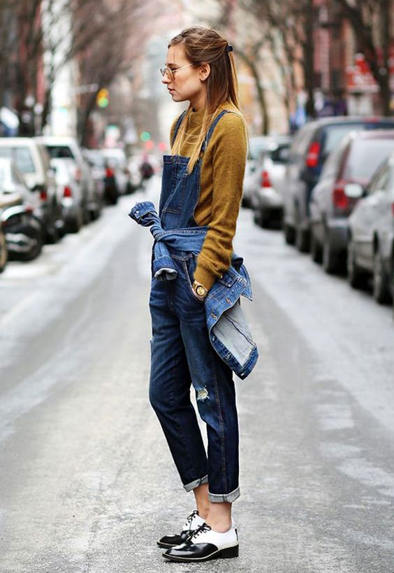overall outfit trend