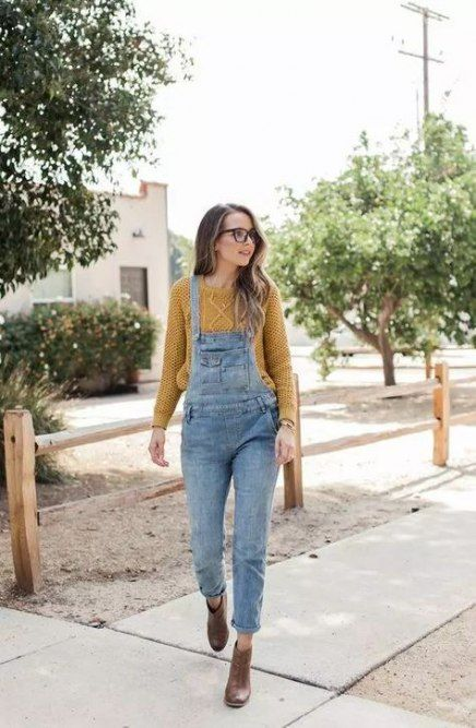 overall outfit