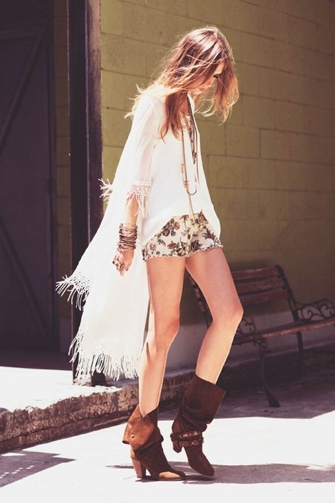 Bohemian Style Boots