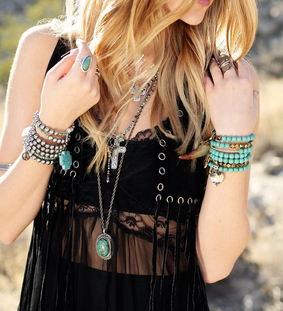 Bohemian Style With Accessories