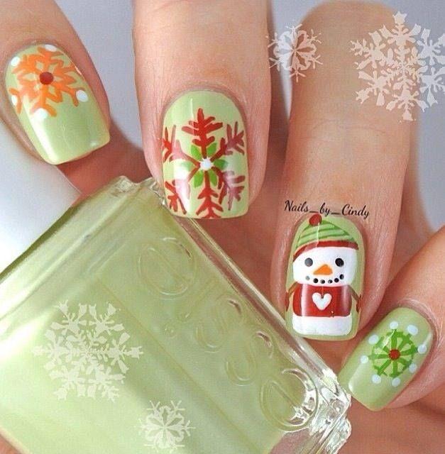 Chrismast Nail Art