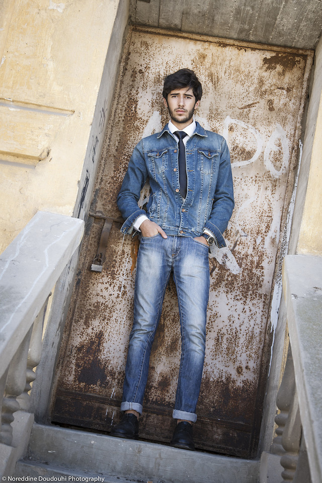 Denim Jacket For men by Khalil Zdaa