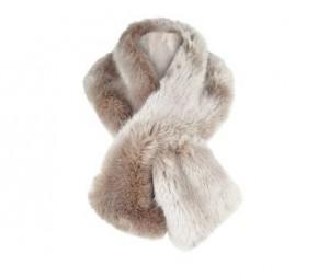 Jacques Vert Palomino Luxury Faux Fur Scarf