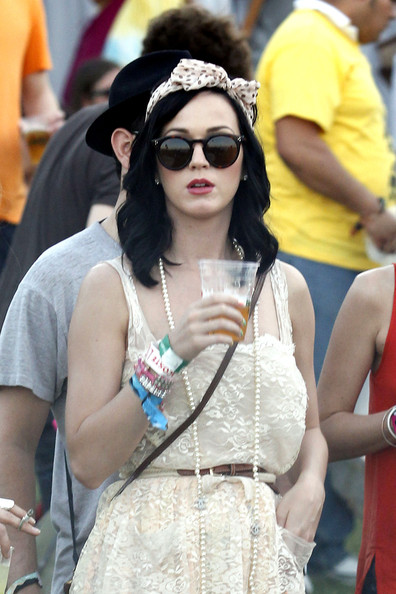 Katy Perry Round Sunglasses