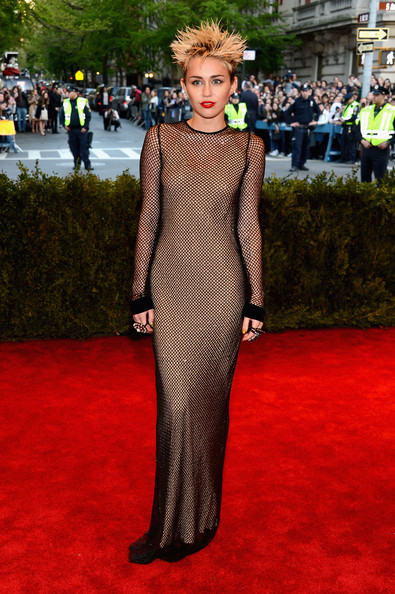 Miiley Cyrus Evening Dress by Marc Jacobs