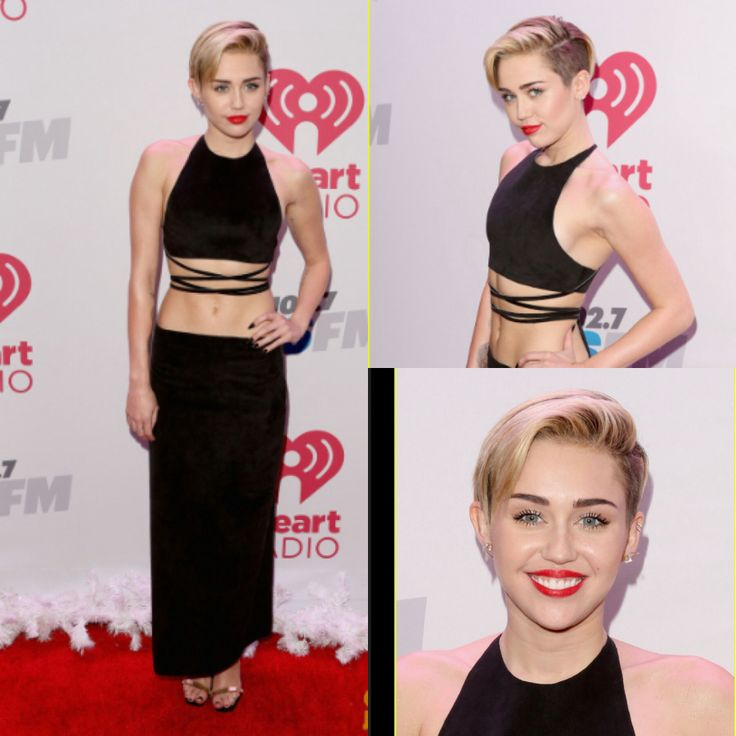 Miley Cyrus Red Carpet Dress