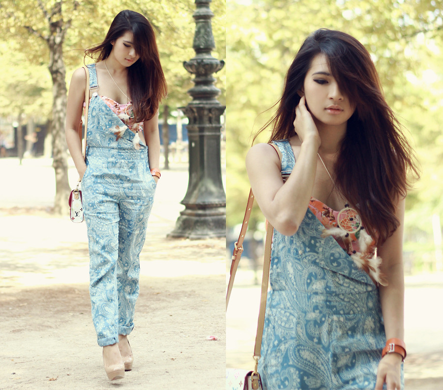 Overall Jeans By Anastasia Siantar