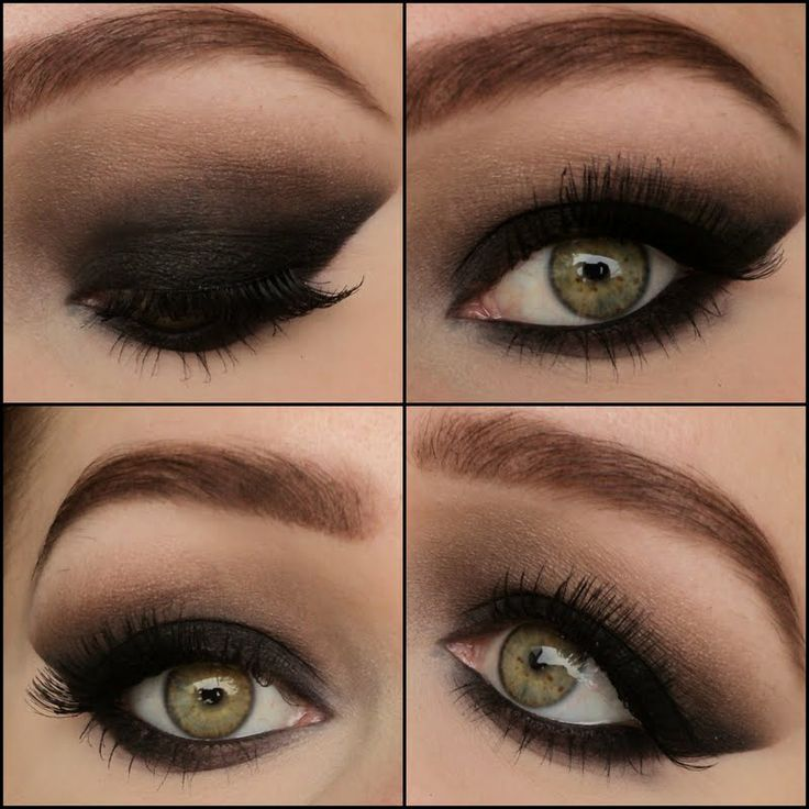 Smokey Eye Shadow for green eyes